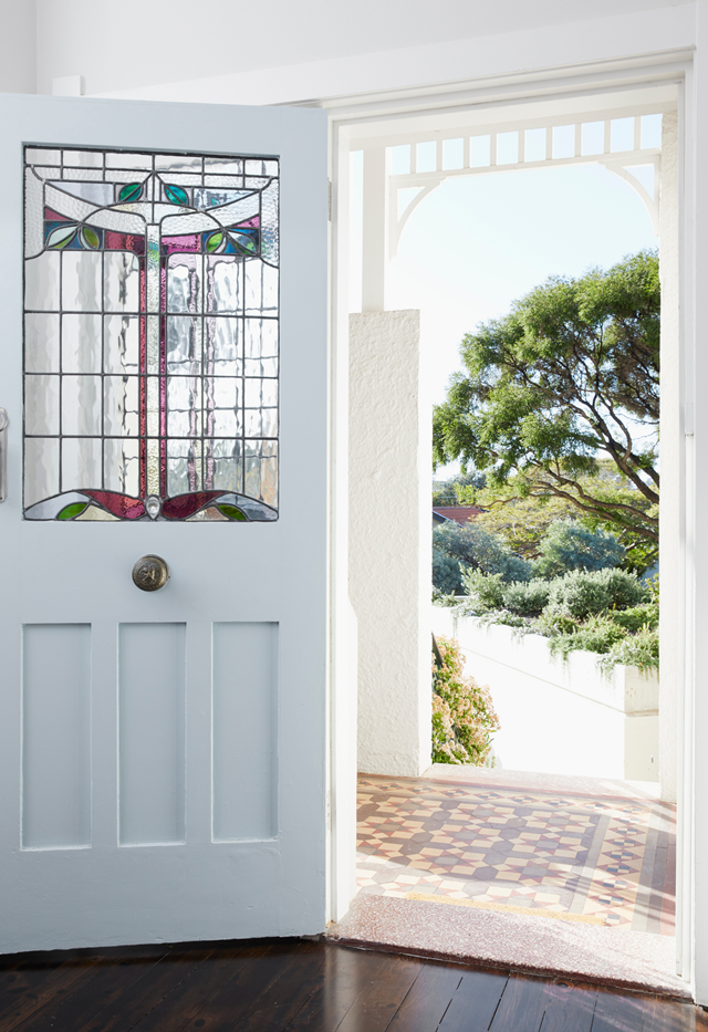 Painting the front door will make the right first impression, and it won't cost a fortune.