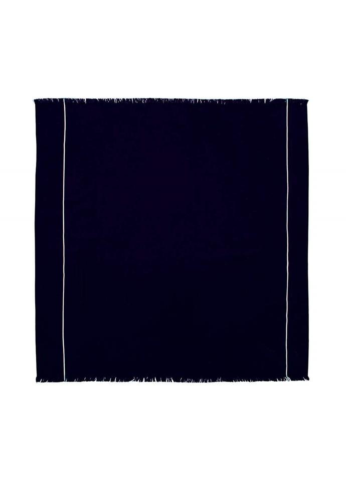 """Adventurer Travel Towel, $89, [The Beach People](https://thebeachpeople.com.au/collections/beach-towels/products/adventurer-travel-towel