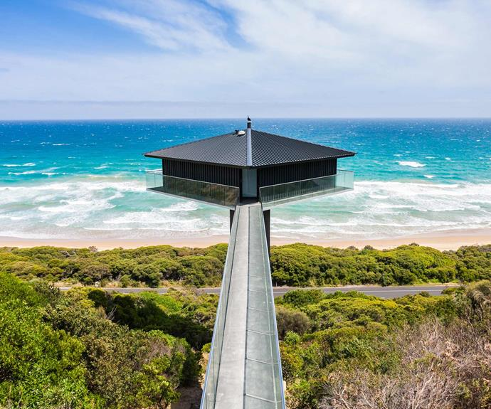 "**[The Pole House, Airleys Inlet, VIC](https://www.stayz.com.au/holiday-rental/p7441355|target=""_blank""
