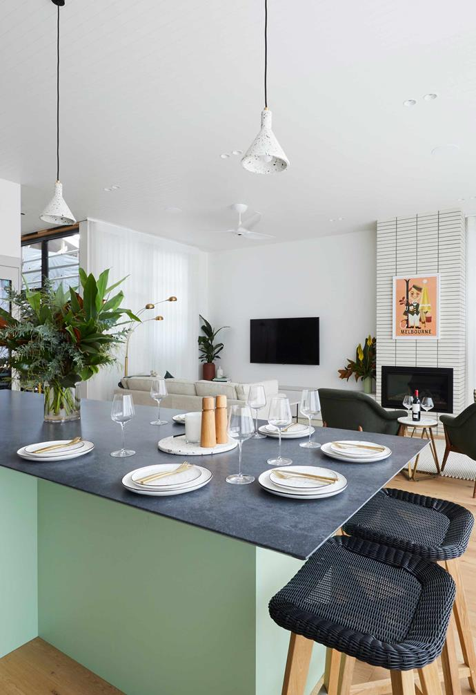 """**[Week 7, Living and Dining Week](https://www.homestolove.com.au/the-block-2020-living-dining-reveal-21904 target=""""_blank"""")** Living and Dining week saw Jimmy and Tam's biggest fall from grace of the season with judge Neale Whitaker describing the space as """"a complete fail"""" due to their decision to omit a dedicated dining zone, and substitute their kitchen island as a dining table instead."""