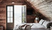 A doll's house-like timber cottage in Daylesford, Victoria