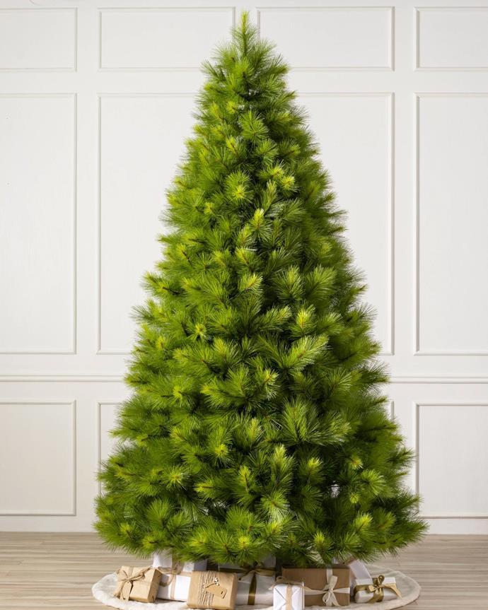 "Monterey Pine artificial Christmas tree Unlit (180cm), $459, [Balsam Hill](https://www.balsamhill.com.au/p/monterey-pine-artificial-christmas-tree|target=""_blank""|rel=""nofollow"")"