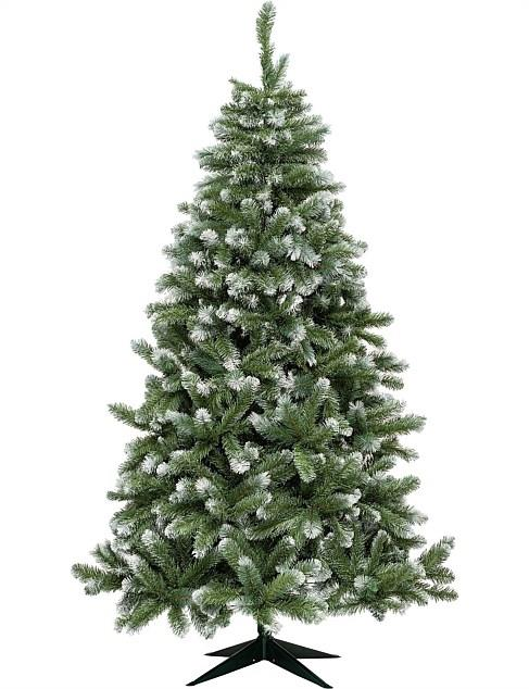 "Vail Grey Green with Snow Tips Christmas Tree (210cm), $299, [David Jones](https://www.davidjones.com/home-and-food/christmas/christmas-trees/22591116/210-CM-VAIL-GREY-GREEN-WITH-SNOW-TIPS-CHRISTMAS-TREE.html|target=""_blank""|rel=""nofollow"")"