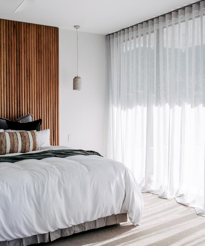 If you love light spaces, opt for sheer curtains to add a luxury resort vibe to your bedroom. If sleeping-in features high on your daily wish list, consider blockout curtains for the perfect night's sleep.