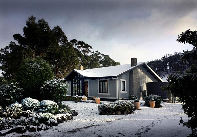 Enjoy snow in winter and a gorgeous flower-filled garden in the warmer months.