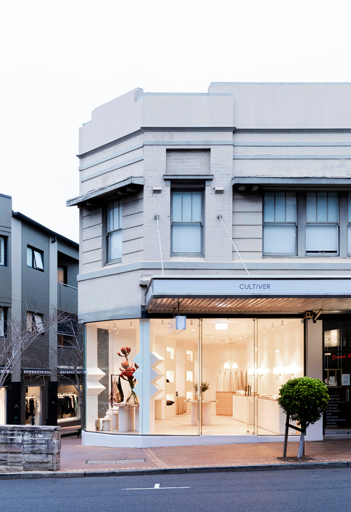 In a generous corner shop space, the flagship store sits on one of Sydney's most popular shopping precincts in Mosman.