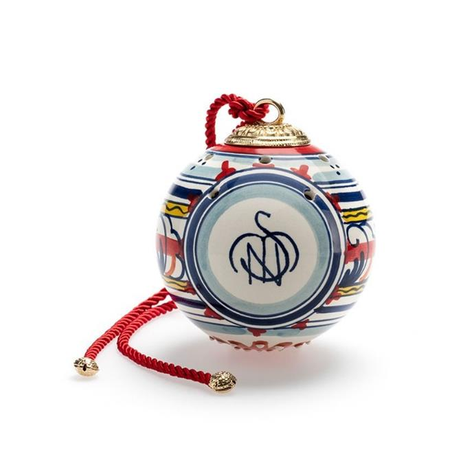 "Coloured ceramic sphere, $89, [Santa Maria Novella](https://buy.smnovella.com.au/7471804.html target=""_blank"" rel=""nofollow"")"
