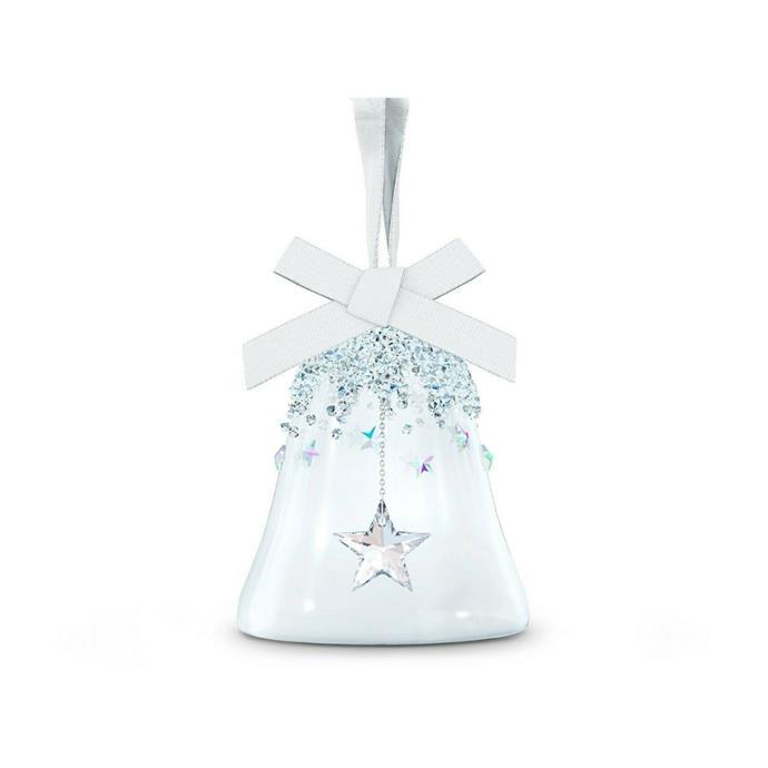 "Small bell ornament, $89, [Swarovski](https://www.swarovski.com/en_GB-AU/p-5545500/Bell-Ornament-Star-small/ target=""_blank"" rel=""nofollow"")"
