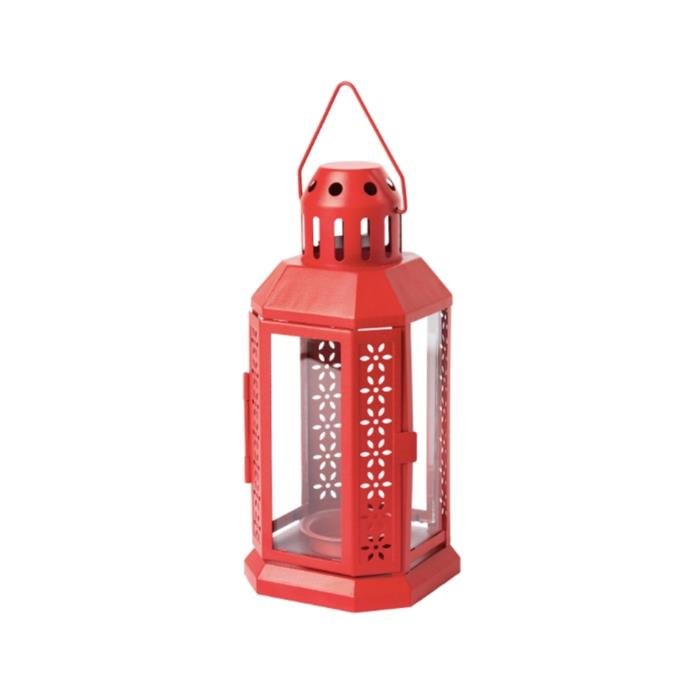"'Vinter' lantern, $4.99, [Ikea](https://www.ikea.com/au/en/p/vinter-2020-lantern-for-tealight-in-outdoor-red-30466479/|target=""_blank""