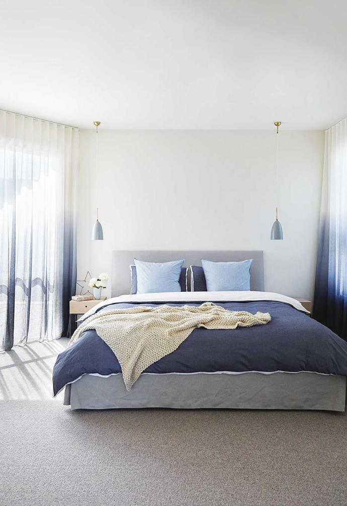 """**Master bedroom** The Gubi lights from [AmbienteDirect](https://www.ambientedirect.com/en