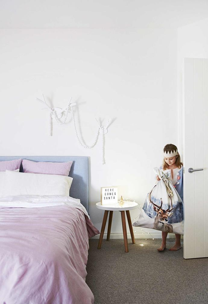 """**Lilah's bedroom** Subtle curves come to the fore with the powder-blue [Jardan](https://www.jardan.com.au/