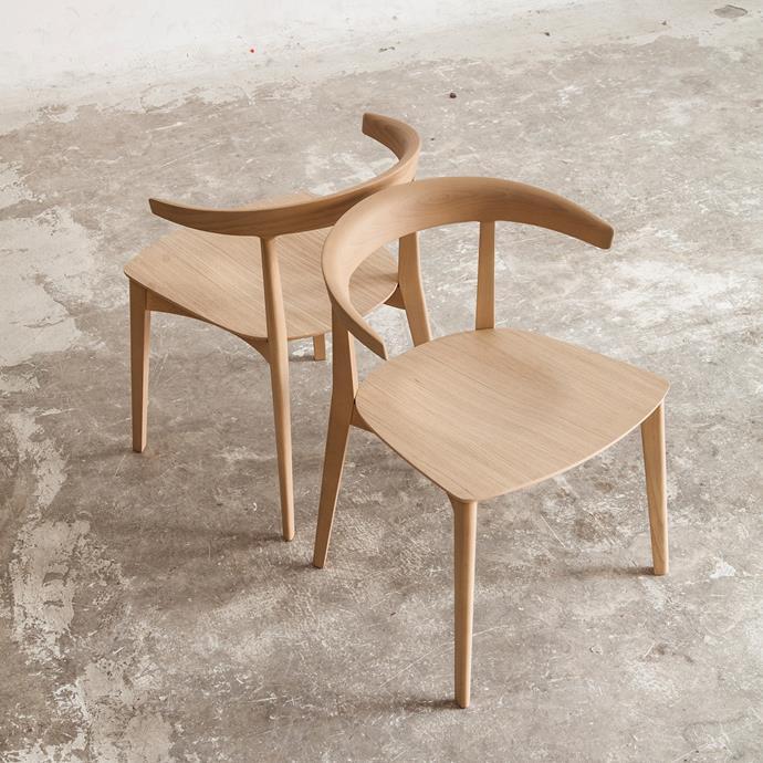 "Carola Chair by Andreu World, POA, [Kezu](https://www.kezu.com.au/furniture/andreu-world-carola-chair.html target=""_blank"" rel=""nofollow"")"