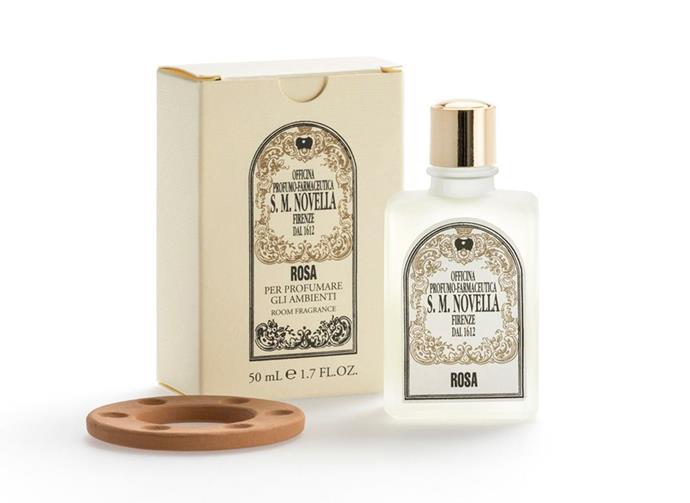 "**For the house** Rosa Room Fragrance, $89, [Santa Maria Novella](https://buy.smnovella.com.au/7011751.html|target=""_blank""|rel=""nofollow"")."