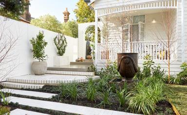 The Block 2020: front garden and facade reveals