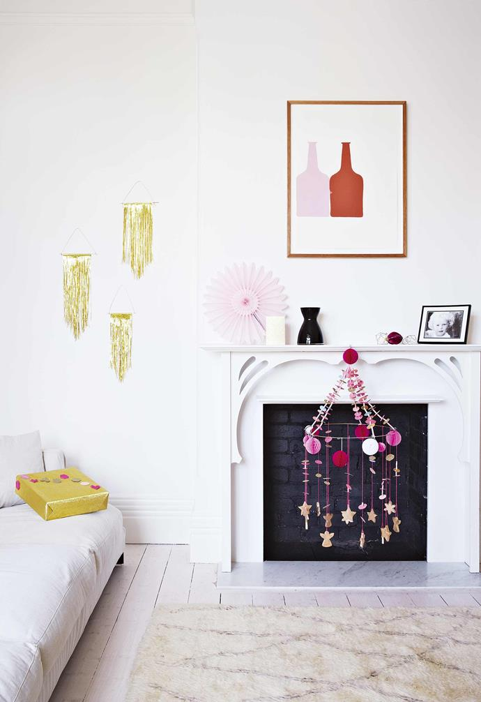 **Artwork** Colourful artwork provides a vibrant contrast throughout the home.