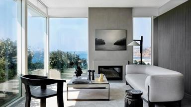 An ultra-modern coastal home with expansive ocean views