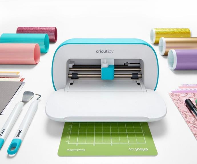 "Cricut Joy cutting and writing machine, $349, from [Spotlight](https://fave.co/3jG44Cr|target=""_blank""|rel=""nofollow"")."