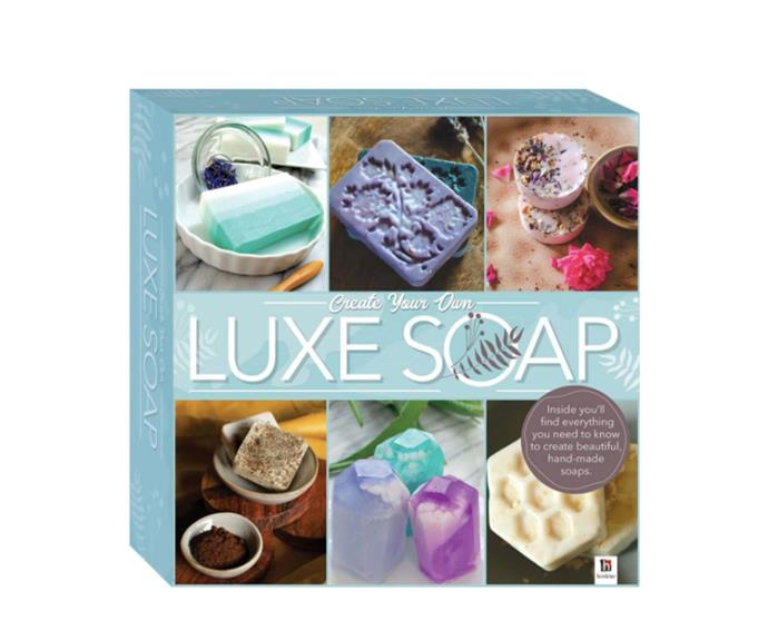 """Create Your Own Luxe Soap Kit Box Set, $12, from [Target](https://www.target.com.au/p/create-your-own-luxe-soap-kit-box-set/62851558