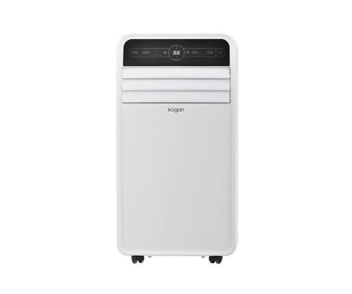 """The smart way to heat and cool your home, the Kogan SmarterHome™ 4.1kW Portable Smart air conditioner will keep you comfortable all year round and can be controlled right from your smartphone. <br><br> Kogan SmarterHome™ 4.1kW Portable Smart Air Conditioner, $499.99, [Kogan](https://www.kogan.com/au/buy/kogan-smarterhome-41kw-portable-air-conditioner-14000-btu-reverse-cycle/ target=""""_blank"""" rel=""""nofollow"""")"""