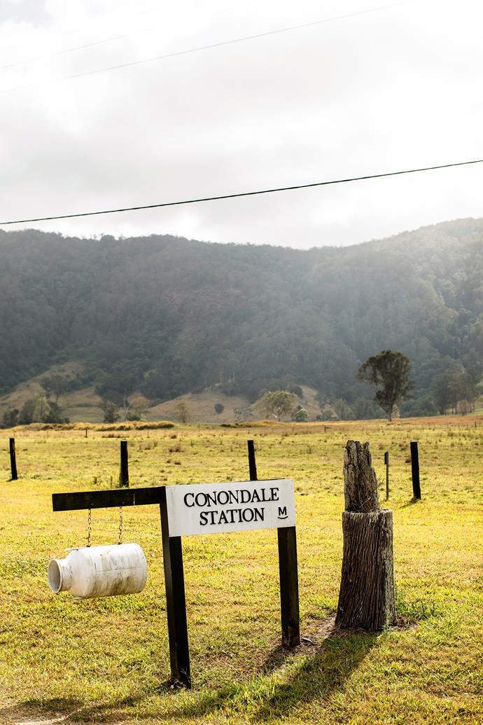 Maree's family moved to Conondale Station in 1995.