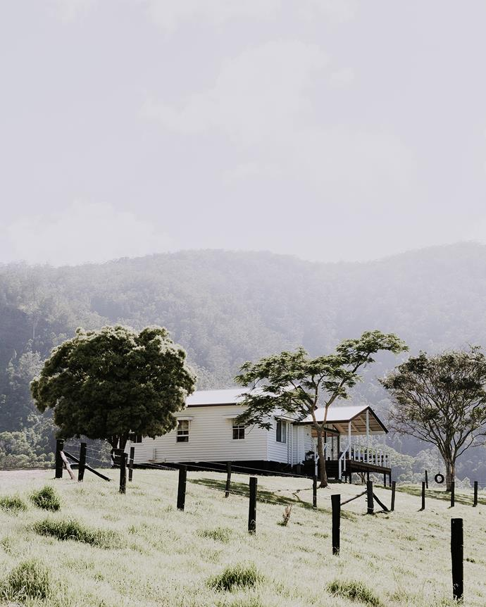 The Cottage at Conondale Station.