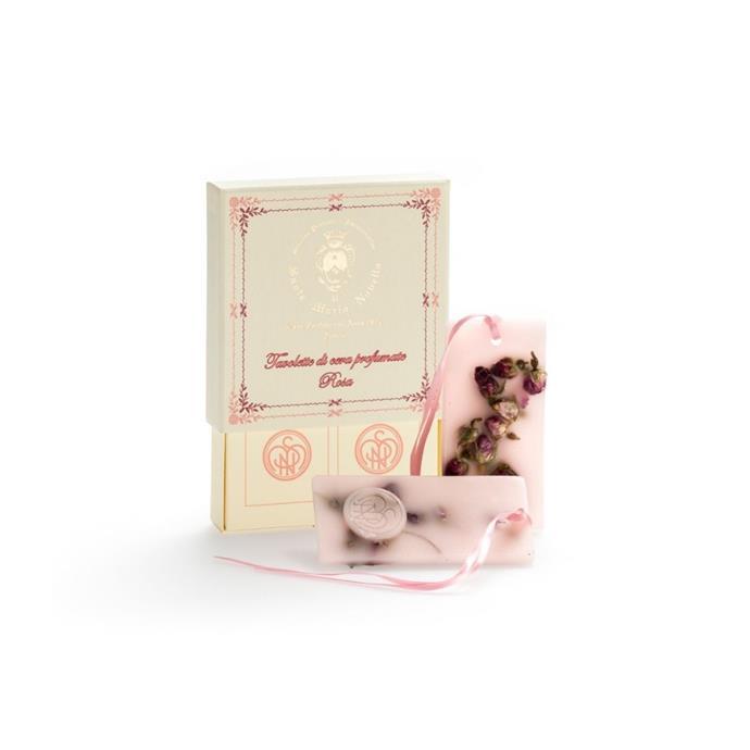 "Rosa scented wax tablets, $45, [Santa Maria Novella](https://buy.smnovella.com.au/85526.html|target=""_blank""|rel=""nofollow"")"