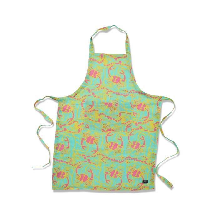 "Barnkabarra linen apron, $69, [Kip&Co](https://kipandco.com.au/collections/babbarra-x-kip-co/products/barnkabarra-linen-apron|target=""_blank""|rel=""nofollow"")"