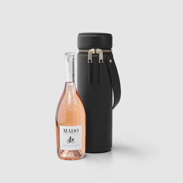 "Kinnon Luxe Leather Personalised Pebble Leather Wine Carrier, $175, [Hard To Find](https://www.hardtofind.com.au/193810_personalised-pebble-leather-wine-carrier|target=""_blank""