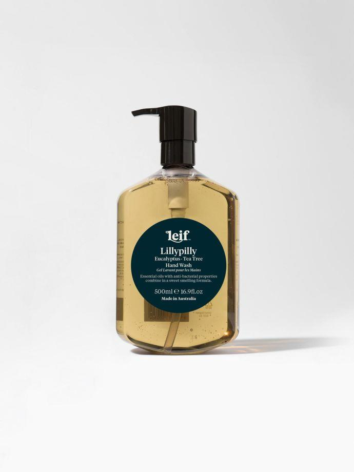 """Lillypilly Hand Wash 500ml by Leif, $35, [Aura Home](https://www.aurahome.com.au/lillypilly-hand-wash-500ml-by-leif