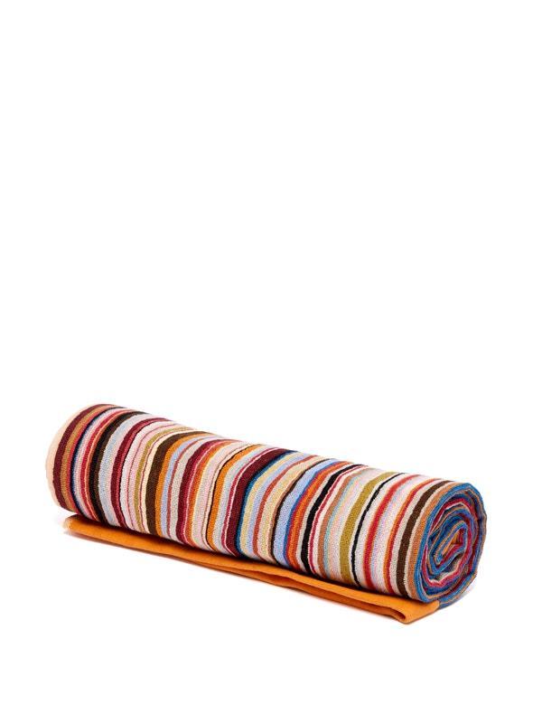 "Paul Smith signature-stripe cotton-terry beach towel, $99, [MatchesFashion](https://www.matchesfashion.com/au/products/Paul-Smith-Signature-stripe-cotton-terry-beach-towel-1260579|target=""_blank""|rel=""nofollow"")"