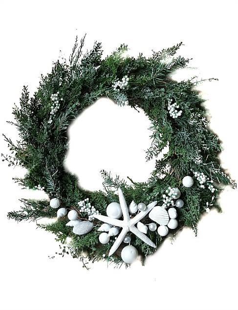 "50cm Starfish Coastal Wreath, $99.95, [David Jones](https://www.davidjones.com//22578170/50CM-STARFISH-COASTAL-WREATH.html|target=""_blank""|rel=""nofollow"")"