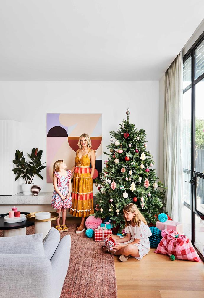 **Settle in** Coming together at Christmas is a highlight of the year for Geelong homeowners Peta and Fletch and their family. It's not hard to see why.