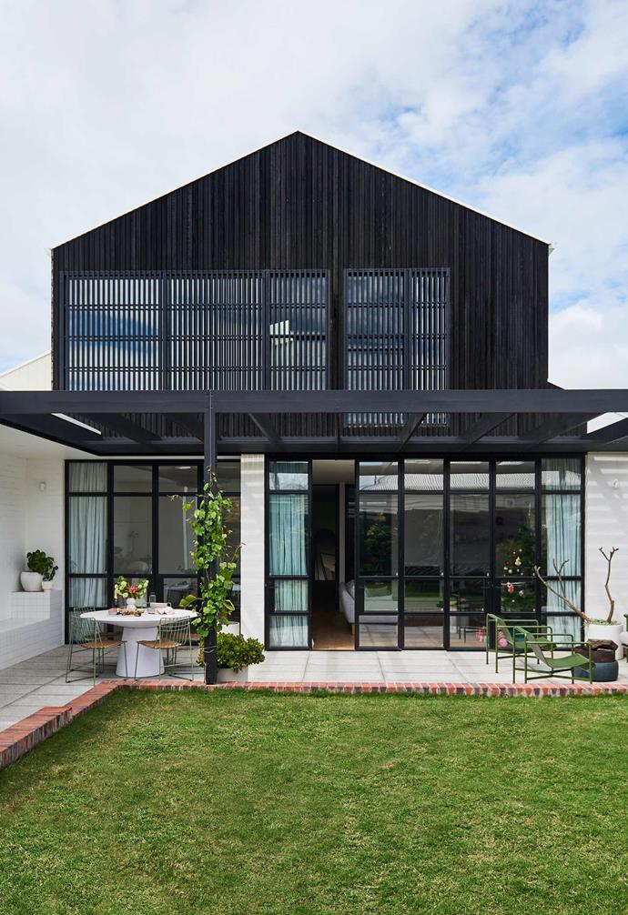 "**Exterior** ""I love the black timber cladding from [Eco Timber](https://www.ecotimbergroup.com.au/
