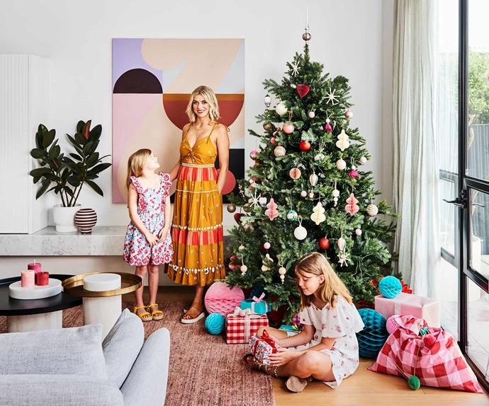 An Edwardian-style house in Geelong's festive transformation