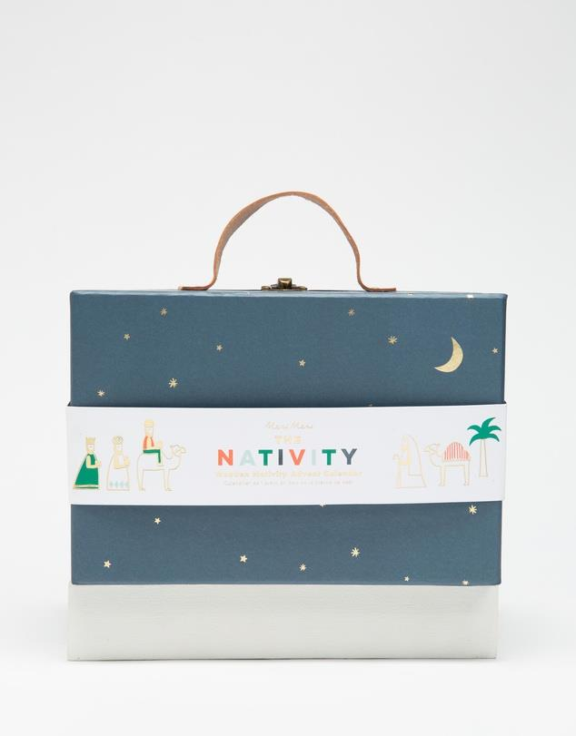 "MERI MERI Nativity Advent Calendar for kids, $74.95, [The Iconic](https://www.theiconic.com.au/advent-calendar-nativity-1130500.html|target=""_blank""|rel=""nofollow"")"