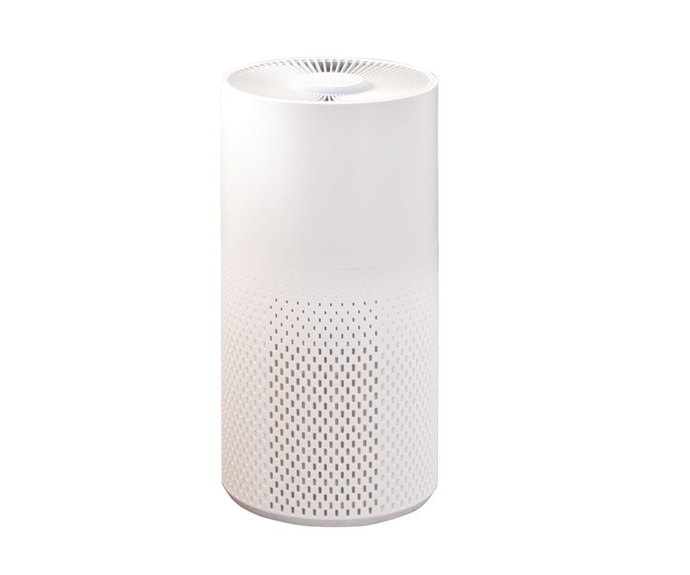 "Lucci Air Volume Air Purifier in White/Grey, $249, [Beacon Lighting](https://www.beaconlighting.com.au/lucci-air-volume-air-purifier-in-white-grey|target=""_blank""|rel=""nofollow"")"