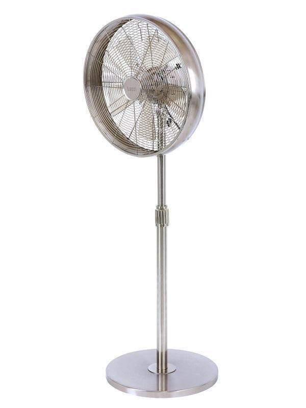 "Breeze 41cm Pedestal Fan in Brushed Chrome, $109, [Beacon Lighting](https://www.beaconlighting.com.au/breeze-41cm-pedestal-fan-in-brushed-chrome|target=""_blank""|rel=""nofollow"")"