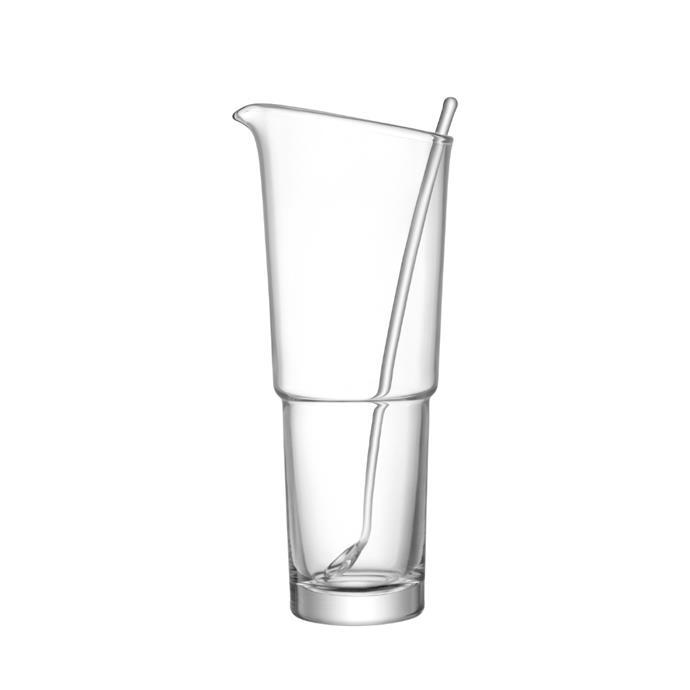 "LSA mixologist 1.6L cocktail jug with stirrer, $99, [Temple & Webster](https://www.templeandwebster.com.au/Mixologist-1.6L-Cocktail-Jug-with-Stirrer-LSA10135-BLAI1074.html target=""_blank"" rel=""nofollow"")"