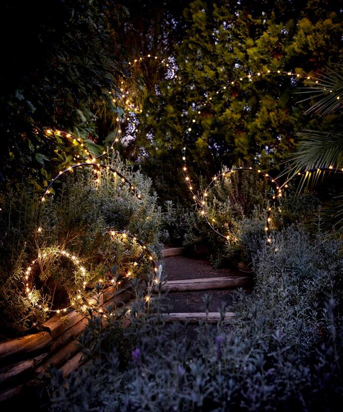 "Illuminate your outdoor area with these [five fantastic fairy light ideas](https://www.homestolove.com.au/using-fairy-lights-outside-5620|target=""_blank"")."