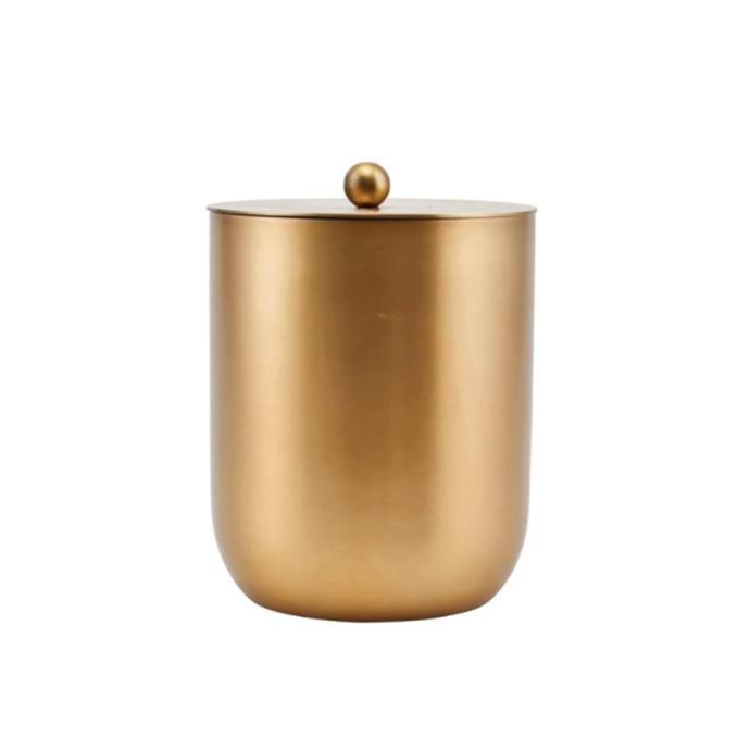 "Alir ice bucket, $98, [Royaldesign.com](https://royaldesign.com/au/alir-ice-bucket-wine-cooler-brass target=""_blank"" rel=""nofollow"")"