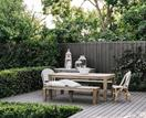 A country-style garden in suburban Melbourne