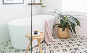 How to create a bathroom that's easy to clean