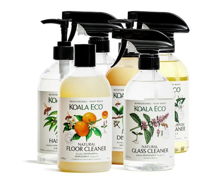 "**Koala Eco** There's nothing better than minimising harsh chemicals in the home, so why not turn your eye to eco-friendly natural cleaning solutions? [Koala Eco](https://koala.eco/|target=""_blank""