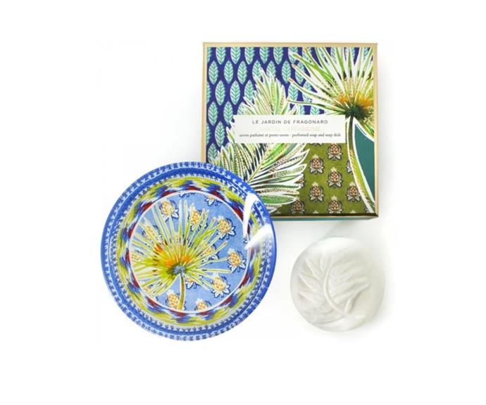 "Santal Cardamome Soap And Soap Dish, $44.95, [Libertine Parfumerie](https://www.libertineparfumerie.com.au/product/santal-cardamome-soap-and-soap-dish/|target=""_blank""