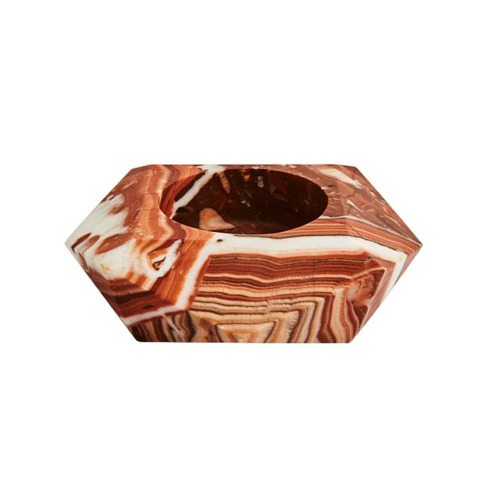 "Gem objet rosso large, $740, [Greg Natale](https://www.gregnatale.com/collections/all-decor/products/gem-objet-rosso-large|target=""_blank""
