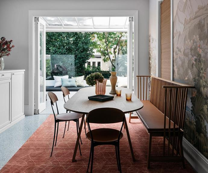 A renovated light-filled and serene Victorian-era terrace