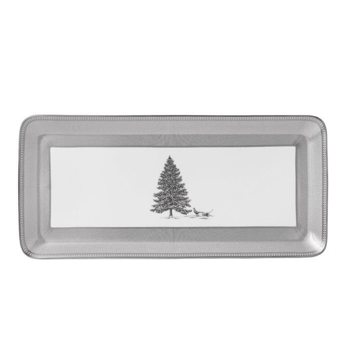 "Christmas rectangular sandwich tray 34cm, $119, [Wedgwood](https://www.wedgwood.com.au/christmas-rectangular-sandwich-tray-34cm.html|target=""_blank""|rel=""nofollow"")"