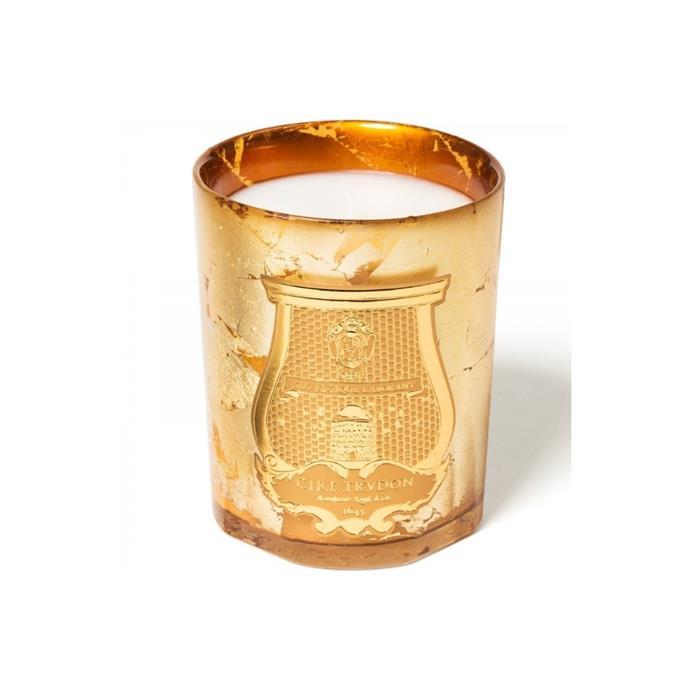 "Abd El Kader metallic Christmas candle, $145, [Libertine Parfumerie](https://www.libertineparfumerie.com.au/product/abd-el-kader-metallic-christmas-candle/|target=""_blank""|rel=""nofollow"")"