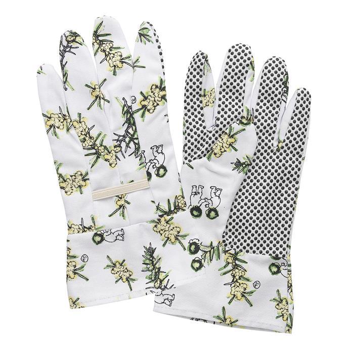 "May Gibbs by Ecology, White Wattle Linen Gardening Gloves (Set of 2), $16.95, [Temple & Webster](https://www.templeandwebster.com.au/White-Wattle-Gardening-Linen-Gloves-EC10066-ELGY1662.html?refid=GPAAU447-ELGY1662&device=c&ptid=932582155431&gclid=CjwKCAiAkan9BRAqEiwAP9X6URMEvvbWdNtn2GtXi0HjZ3WaQ3bqCcL1lWsmE1Legx94wb2uUZulyRoCJIQQAvD_BwE|target=""_blank""|rel=""nofollow"")"