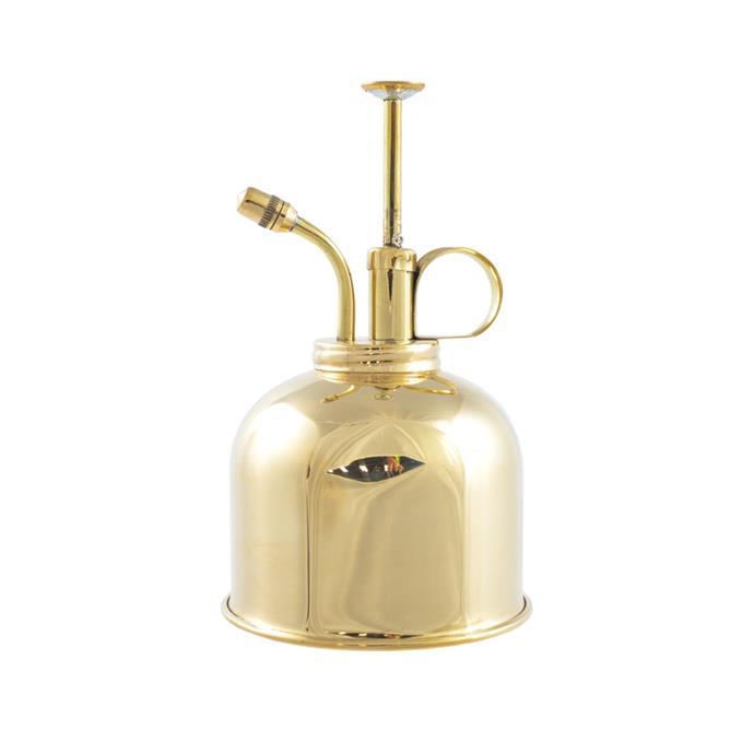 "Mist Sprayer - Brass 300 ml, $62, [Buy from the Bush](https://www.buyfromthebush.com.au/a/gardening-tools/haws/nsw/canowindra/mist-sprayer-brass-300-ml/100021050?variant_id=43487|target=""_blank""|rel=""nofollow"")"